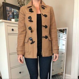 Toggle wool jacket